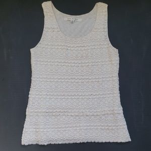 Business Casual Lacey Tank Top
